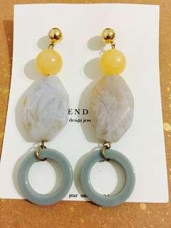 韓國設計師飾品耳環