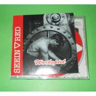 CD SEEIN' RED : WORKSPIEL ALBUM (1993) THRASHCORE LARM HARDCORE