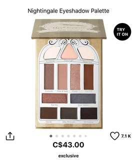 Pretty vulgar eyeshadow palette