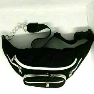 velvet waistbag
