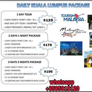 KL Tour Packages