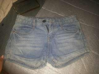 Faded sexy short