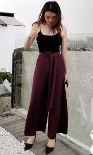 💫BNWT Maroon long pants