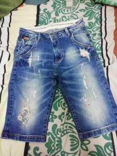 Jean short 2