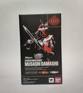 Bandai shf kamen rider ghost mushashi damashi