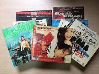 二手電影VCD (9套合共$50/順豐到付)