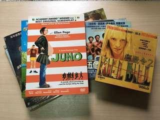 舊電影/劇集/卡通 DVD/VCD (全部合共$50/順豐到付)