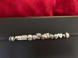 Authentic pandora 2 tone beautiful charms. 40$to 50$ each