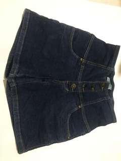 Highwaist jeans - celana pendek jeans