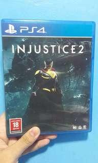 Injustice 2 PS4 games