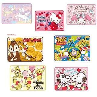 (訂購) Hellokitty, Littletwinstars, melody, Chipndale 大鼻鋼牙, Toystory, Winnie The Pooh 小熊維尼, snoopy - 毛毯