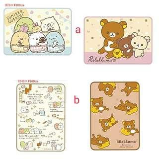 (訂購) sanx Rilakkuma 鬆弛熊 輕鬆小熊, Sumikkogurashi 角落生物 - 毛毯