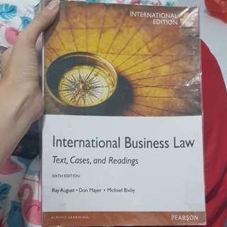 International Business Law sixth edition