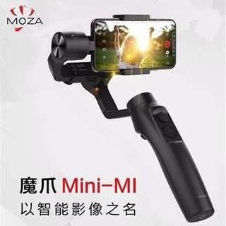 🚚 魔爪 Moza mini-mi 手機三軸穩定器 無線充電 直播 自拍 橫轉360° 公司貨
