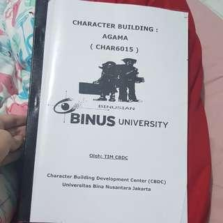 Character Building Agama