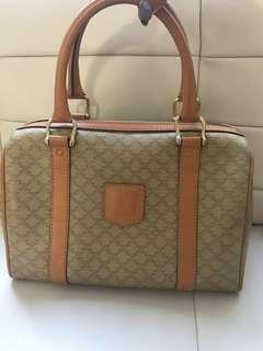 Authentic Vintage Celine Boston Bag
