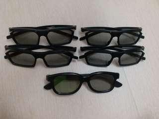 3D Glassess 3d眼鏡