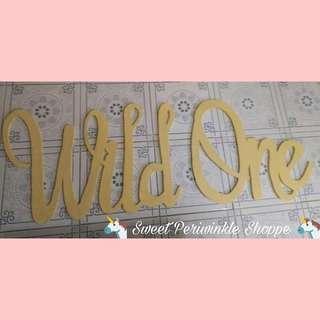 """MTO: Styro name """"Wild One"""""""