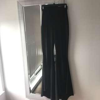 Missguided wide leg pants