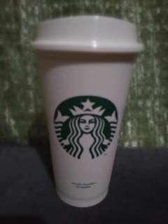 Reusable Starbucks Tumbler 16 oz-Authentic