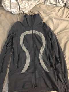 Like new women's grey lululemon jacket