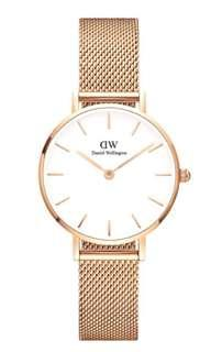 100% AUTHENTIC Daniel Wellington Petite Melrose 28 mm