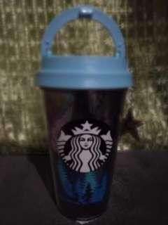 Starbucks Tumbler, 12oz Night Forest Star Charm