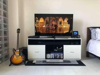 Customized tv console