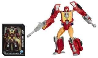 [Brand New] Transformers Titans Return - Hot Rod and Firedrive