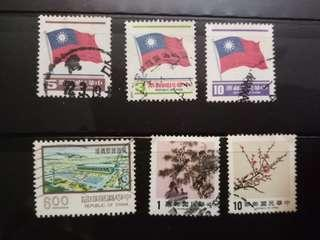 Stamps - Taiwan Vintage Fun Pack 01