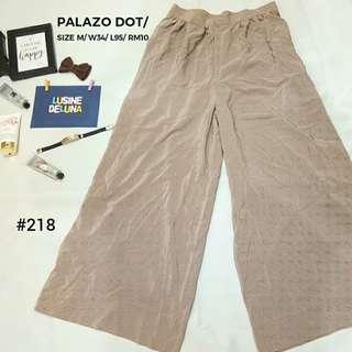 Palazo Pants Polka Dot #218