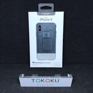 Spigen iPhone X Case Classic C1 Limited Edition - Graphite