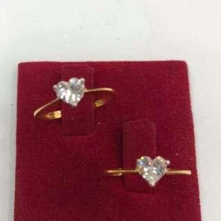 18K Saudi a Gold Ring