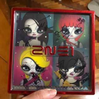 2NE1 Autographed 2nd Mini Album