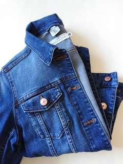H&M L.O.G.G Denim Jacket