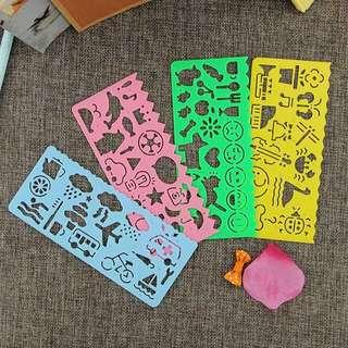 ✔️Kids Stencil Ruler - goodie / party bag / box add on
