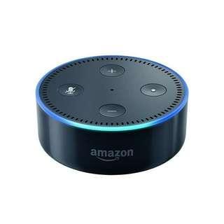 Amazon Echo Dot 2nd Generation Voice Control Assistant AI by Alexa Original 100 % Impor dari Amerika