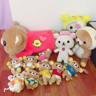 Rilakkuma Plush Toy Stuffed Toy Bulk