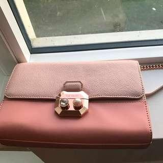 Ted baker crossbody leather bag