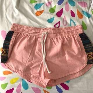 Peachy runner shorts