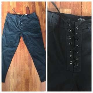 Curve Tie Front Pants