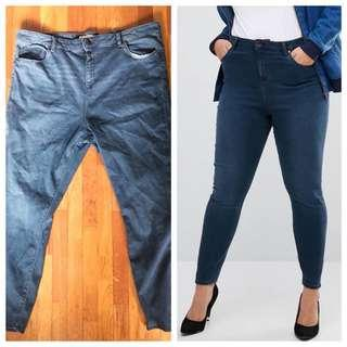 Ridley High Waist Skinny Jeans