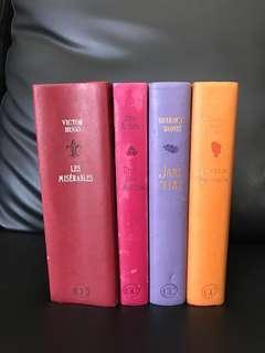 Classic Novels - Little Women, Jane Eyre, Pride and Prejudice, Les Miserables