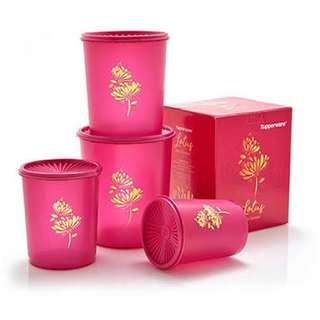 Lotus Deco Canister