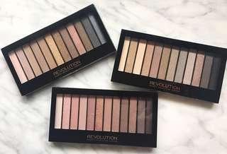🆕👁 Makeup Revolution Redemption Iconic 1/2/3.