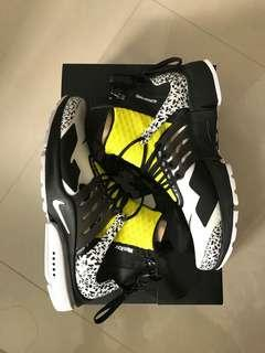 US7 - Nike Air Presto Mid x ACRONYM - Yellow