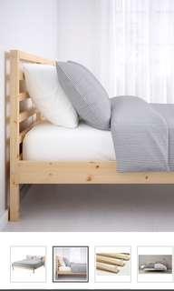 Ikea Tarva Queen Bed