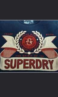 Assorted superdry tshirt