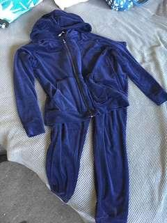 Velour tracksuit size small $30