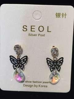 029 Butterfly Earrings